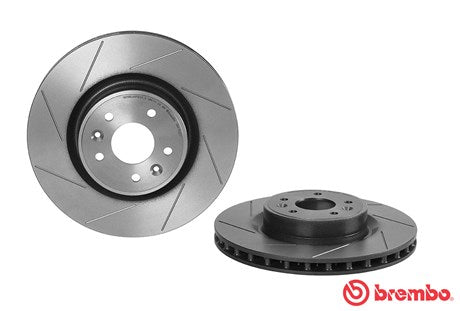 Brembo HC Front Disc (Grooved) Megane 250/265/275