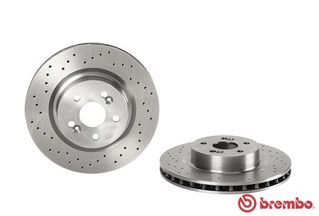 Brembo HC Front Discs (Drilled) Clio197/200