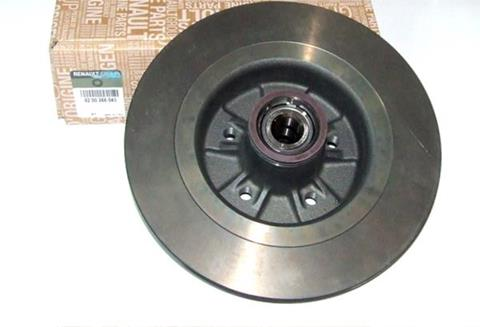 Rear Brake Discs (Plain) Megane 2RS (30MM) + Pad set
