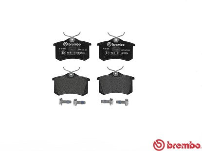 Brembo Brake Pads (Rear) Twingo 133