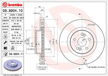 Load image into Gallery viewer, Brembo HC Front Discs (Plain) Clio197/200