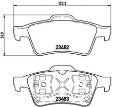 Load image into Gallery viewer, Brembo Brake Pads (Rear) Megane PH1 225