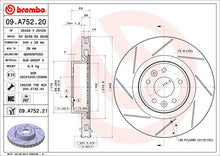Load image into Gallery viewer, Brembo HC Front Disc (Grooved) Megane 250/265/275