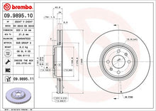 Load image into Gallery viewer, Brembo HC Front Discs (Plain) Clio172/182 *300MM*