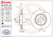 Load image into Gallery viewer, Brembo HC Front Discs (Plain) Clio 172/182