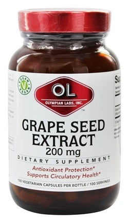 Olympian Labs Grape Seed Extract 200mg