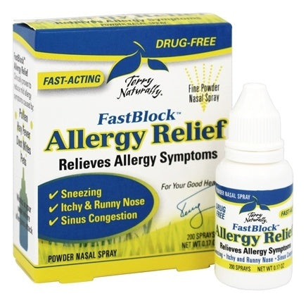 Terry Naturally FastBlock Allergy Relief