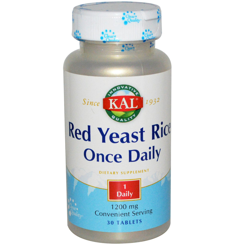 Kal Red Yeast Rice Once Daily