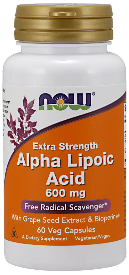 Now Alpha Lipoic Acid 600mg