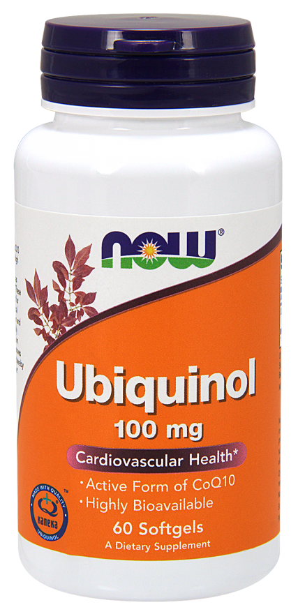 Now Ubiquinol 100 mg