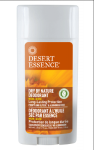 Desert Essence Dry By Nature Deodorant