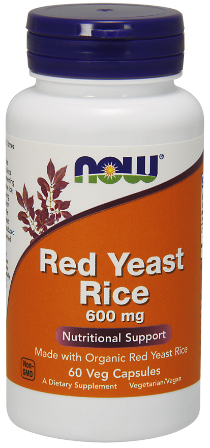 Now Red Yeast Rice 600 mg