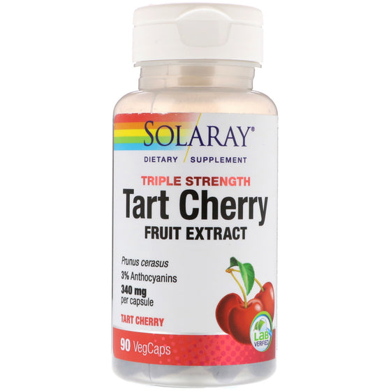 Solaray Tart Cherry 425mg