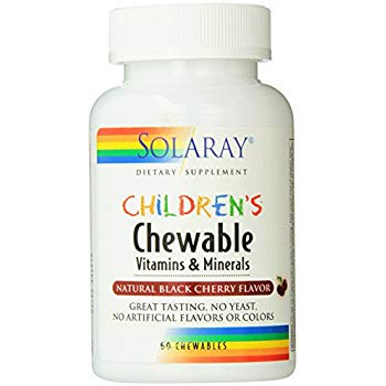 Solaray Children's Chewable Vitamins and Minerals