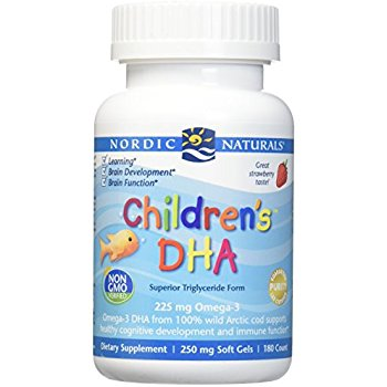 Nordic Naturals Children's DHA 250 softgels