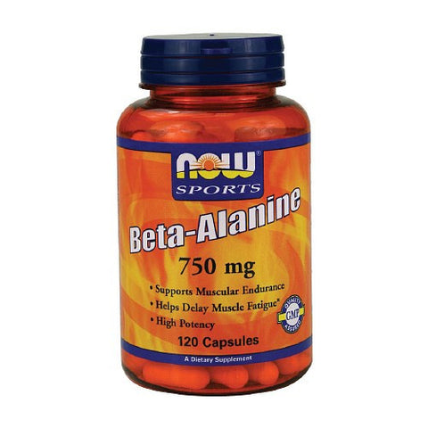 Now Sports Beta-Alanine 750mg