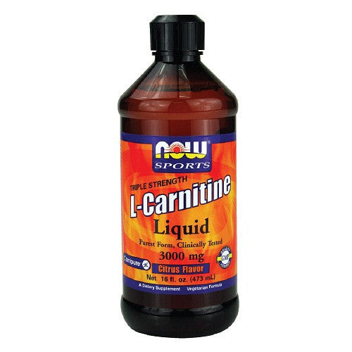 Now Sports L-Carnitine Liquid 1000mg Tropical Flavor
