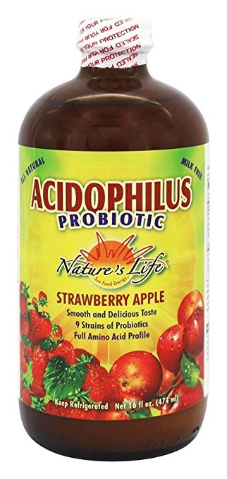 Nature's Life Acidophilus Probiotic