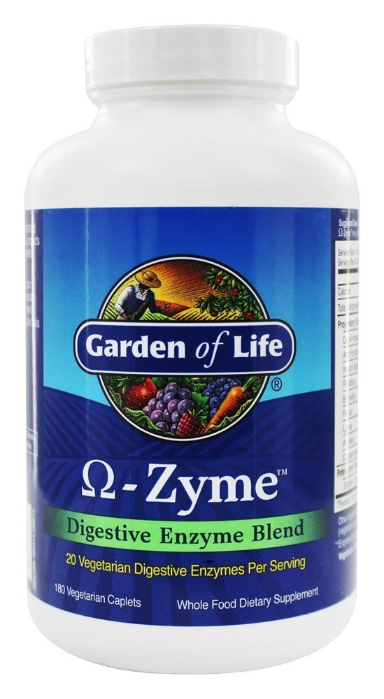 Garden of Life Ω-Zyme Digestive Enzyme Blend