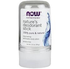 Now Nature's Deodorant Stick