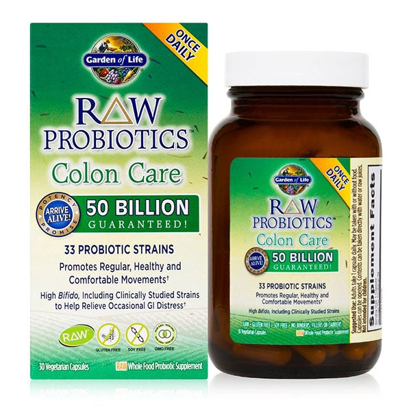 Garden of Life RAW Probiotics Colon Care