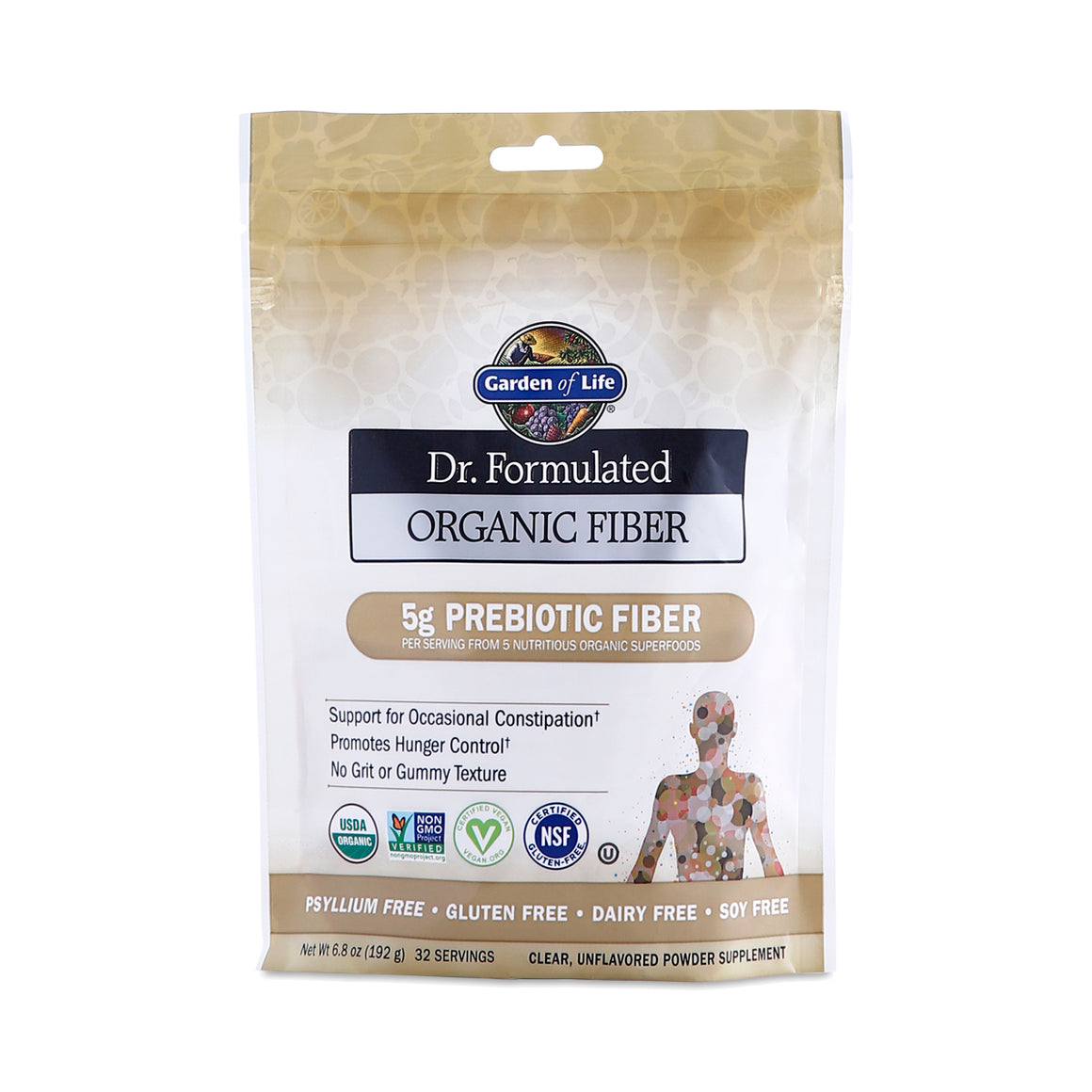 Garden of Life Prebiotic Fiber
