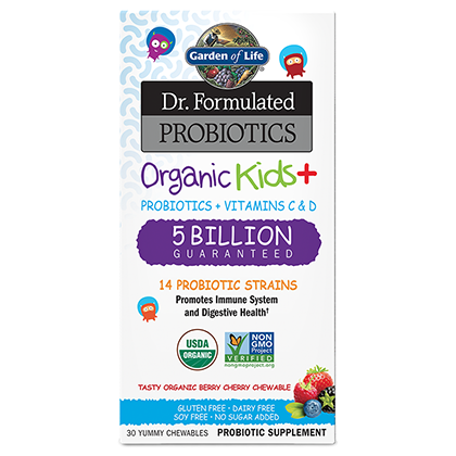 Garden of Life Dr. Formulated Kids Probiotics
