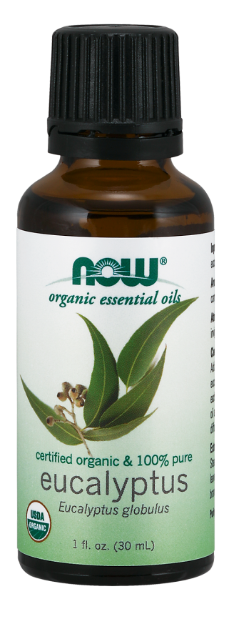 Now Organic Eucalyptus Oil