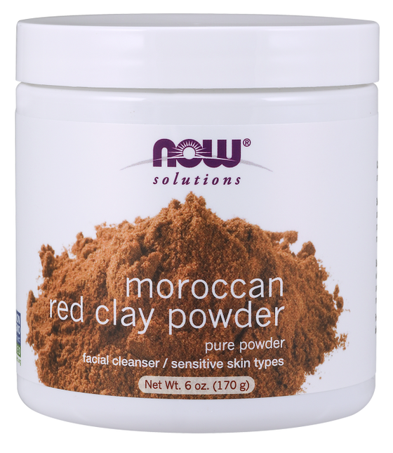 Now Moroccan Red Clay Powder