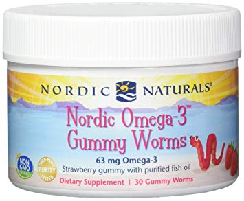 Nordic Omega-3 Gummy Worms