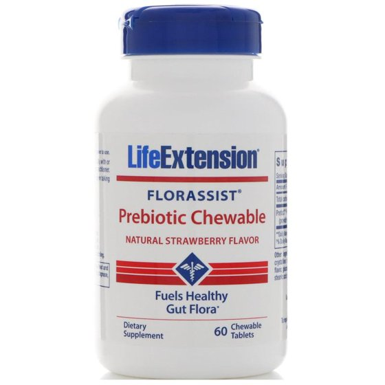 LifeExtension Prebiotic Chewable