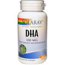 DHA - 100mg - Plant Source Microalgae Oil