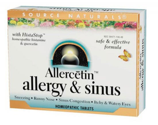 Source Naturals Allercetin™ Allergy & Sinus 48 Tablets