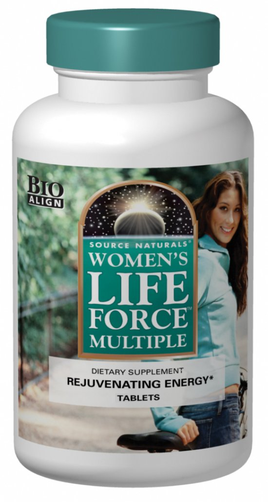 Source Naturals Women's Life Force® Multiple 90 Tablets