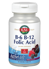 Kal B-6 B-12 Folic Acid