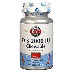 Kal D-3 2000 IU Chewable