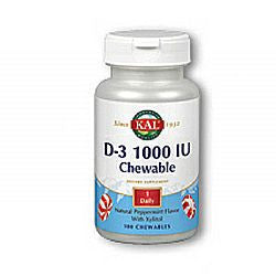 Kal D-3 1000 IU Chewable
