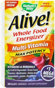 Nature's Way Alive Multi-Vitamin