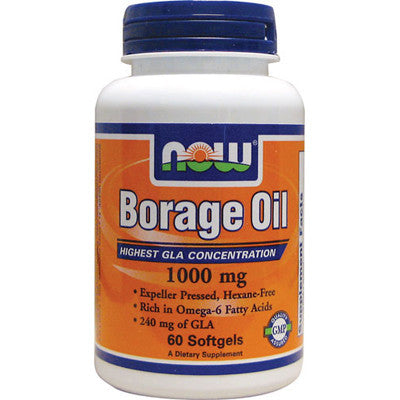 Now Foods Borgage Oil