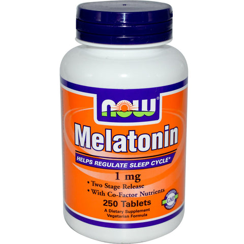 Now Foods Melatonin 1 mg