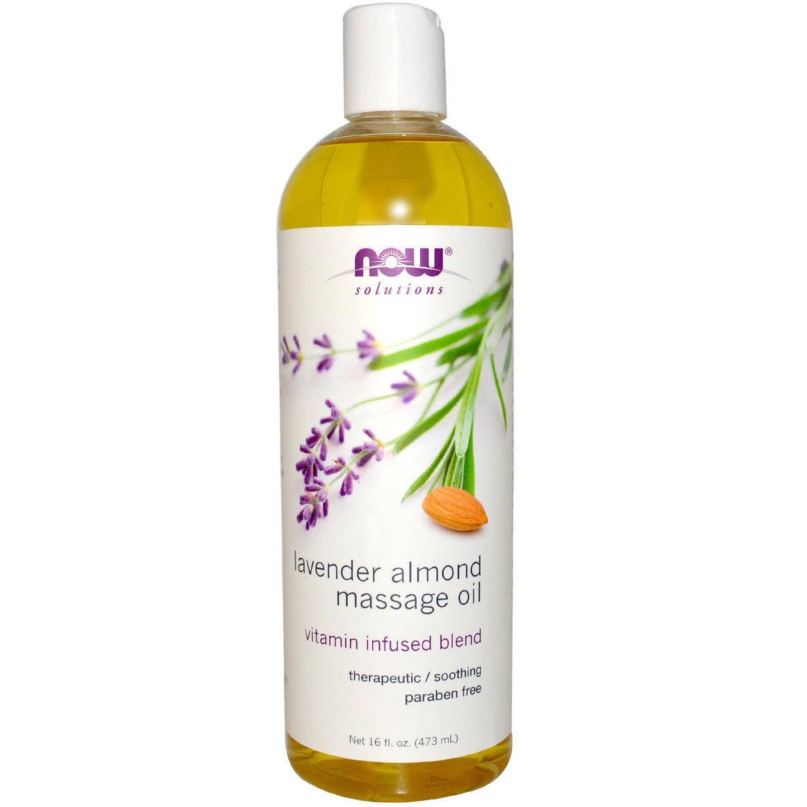 Now Foods Lavender Almond Massage Oil