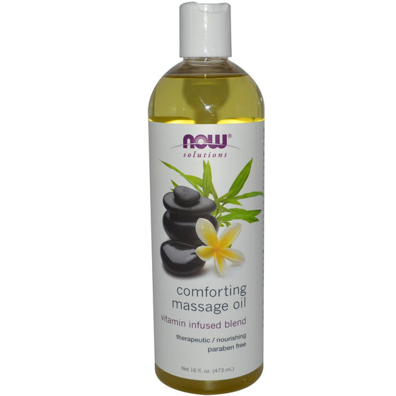 Now Foods Comforting Massage Oil