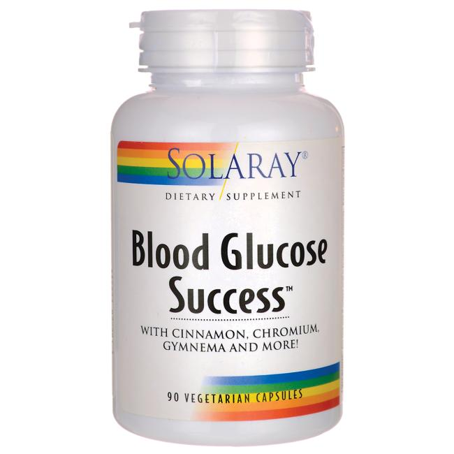 Solaray Blood Glucose Success™ 90 Vegetarian Capsules
