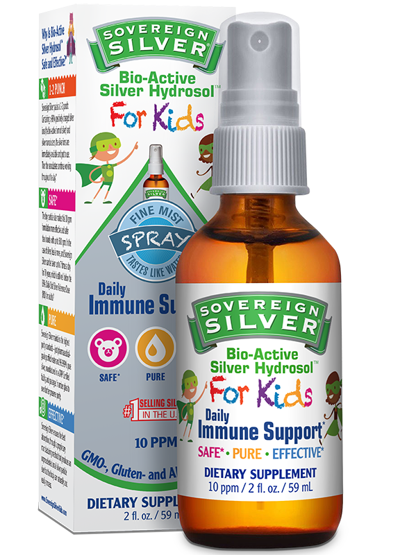 Sovereign Silver For Kids Fine Mist Spray