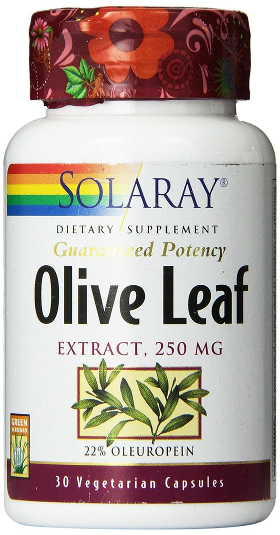 Solaray Olive Leaf Extract 250 MG