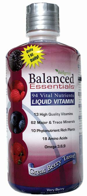 Wellgenix Balanced Essentials™ 32oz Liquid Viatamins