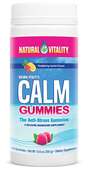 Natural Vitality Calm Gummies