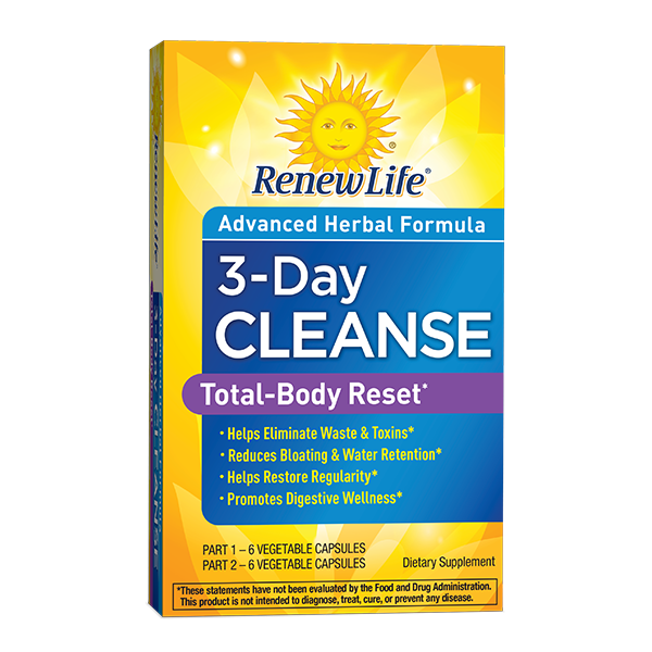 Renew Life 3-Day Cleanse- Total Body Reset