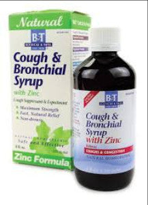 B&T Zinc Formula Cough & Bronchial Syrup