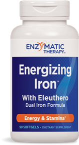 Enzymatic Therapy Energizing Iron With Eleuthero